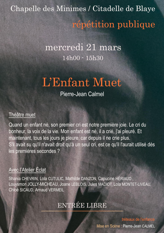 E.REPET PUBLIQUE ENFANT MUET