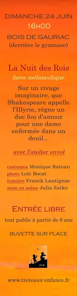 marque page  GAURIAC verso